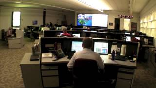 Jeppesen Global Support and Command Center Tour