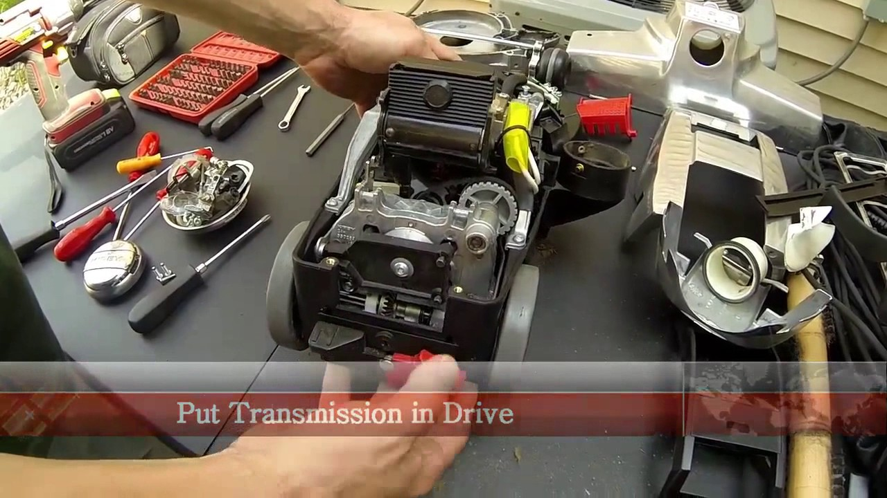 How to disassemble a vacuum cleaner