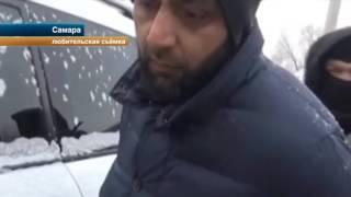 В Самаре полицейские задержали водителя элитной иномарки с пистолетом