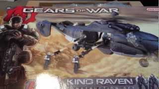 Gears Of War King Raven Erector Set Unboxing/Review Part 1