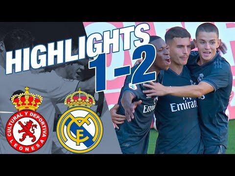 HIGHLIGHTS | Cultural Leonesa 1-2 Real Madrid Castilla