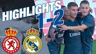 HIGHLIGHTS | Cultural Leonesa 1-2 Real Madrid Castilla