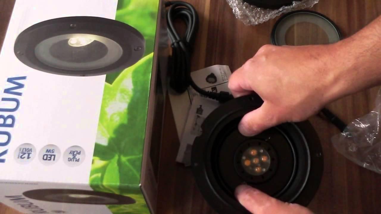 Häufig Video Erstmontage GardenLights Rubum LED Bodeneinbaustrahler - YouTube MB69