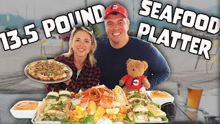 13.5 POUND TEAM SEAFOOD CHALLENGE ft. Randy Santel