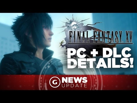 Final Fantasy XV Director Talks DLC, PC Version, and Frame Rate! - GS News Update