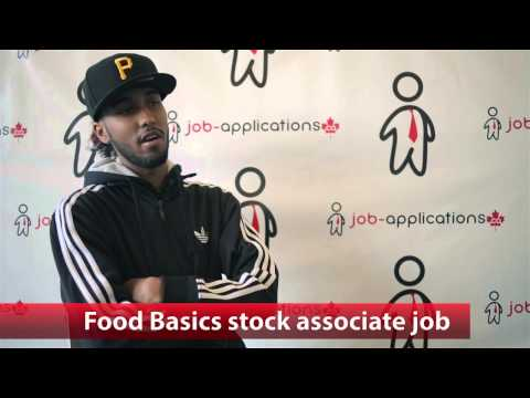 Food Basics Stock Associate Job
