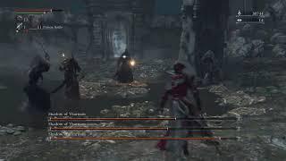 """Bloodborne"" Glitch - Piggy crashing my Shadow of Yharnam boss fight"