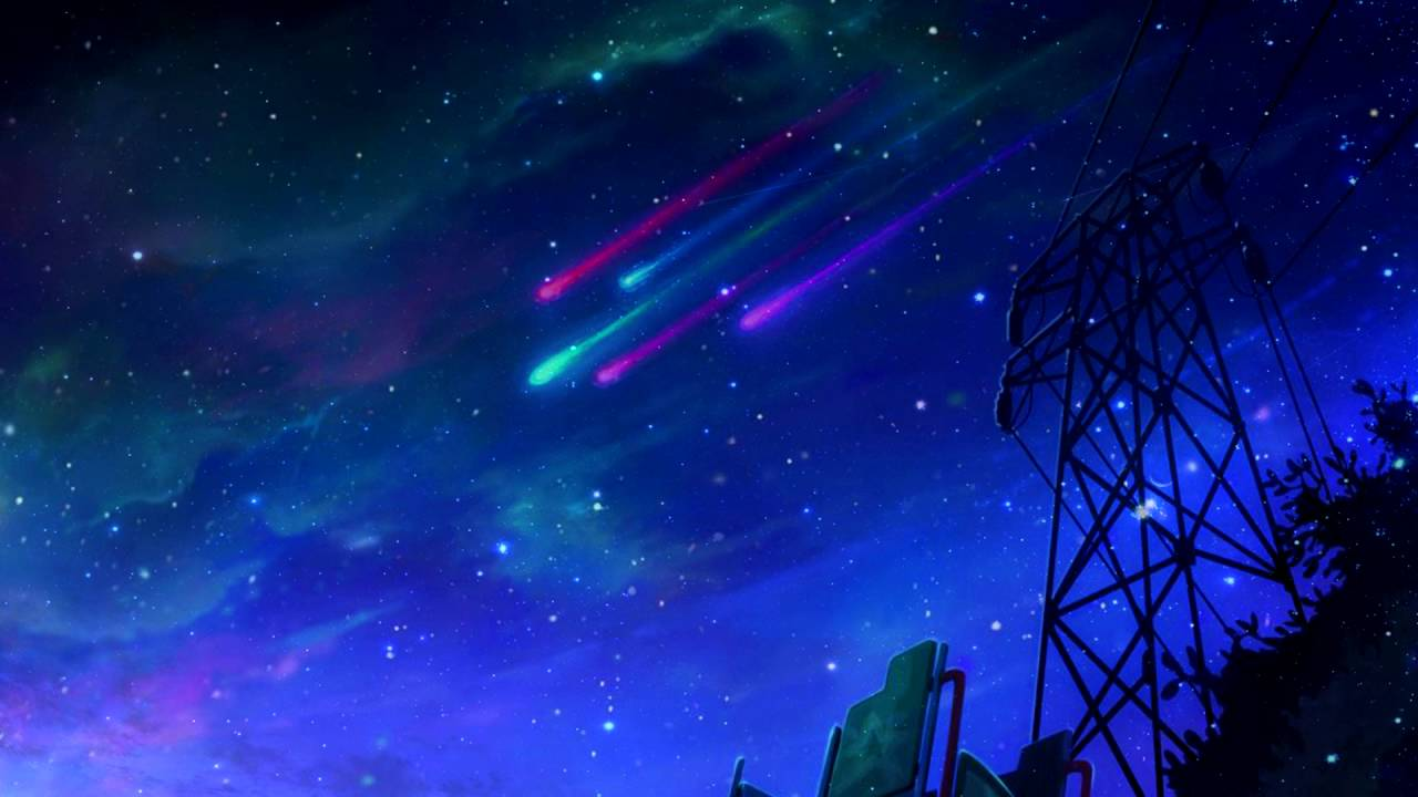 Wallpaper Falling Stars League Of Legends Star Guardian Theme Unofficial