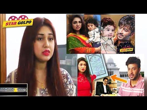 এখনো কিছুই বিশ্বাস করতে পারছেন না অপু বিশ্বাস ! Shakib Khan Apu Biswas Divorce | Abram Khan Joy