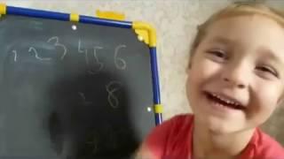 Урок математики для дошколят -  вспоминаем цифры