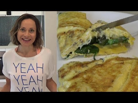 How to Make the Perfect Omelette: Delicious, Easy + Under 400 Calories!