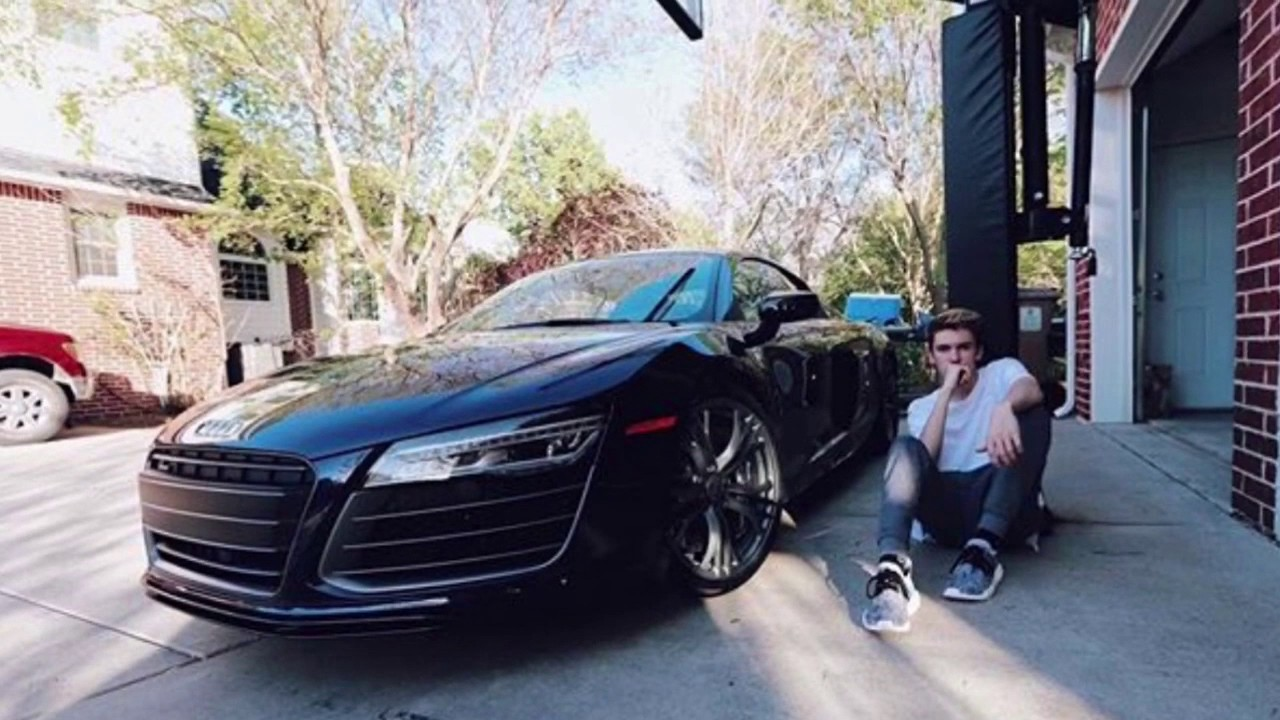 TANNER BRAUNGARDT AUDI R8 AT 16  YouTube