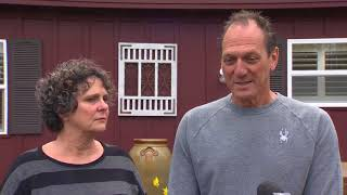 Raw: Interview with the Woodland, Wash. neighbors of the Hart family