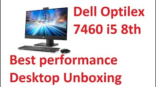 dell optiplex 7460 all-in-one Unboxing Review dell optiplex 7460 toch screen first look