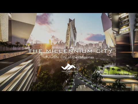 A Futuristic City of the Philippines Powered By Waste To Ene
