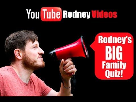Rodney's BIG Family Quiz