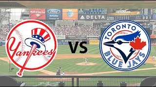 Toronto Blue Jays (29-50)  Vs. New York Yankees (50-28) Live Reaction & Play By Play