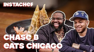 DJ Chase B Discovers Chicago's Unique Food Scene || InstaChef