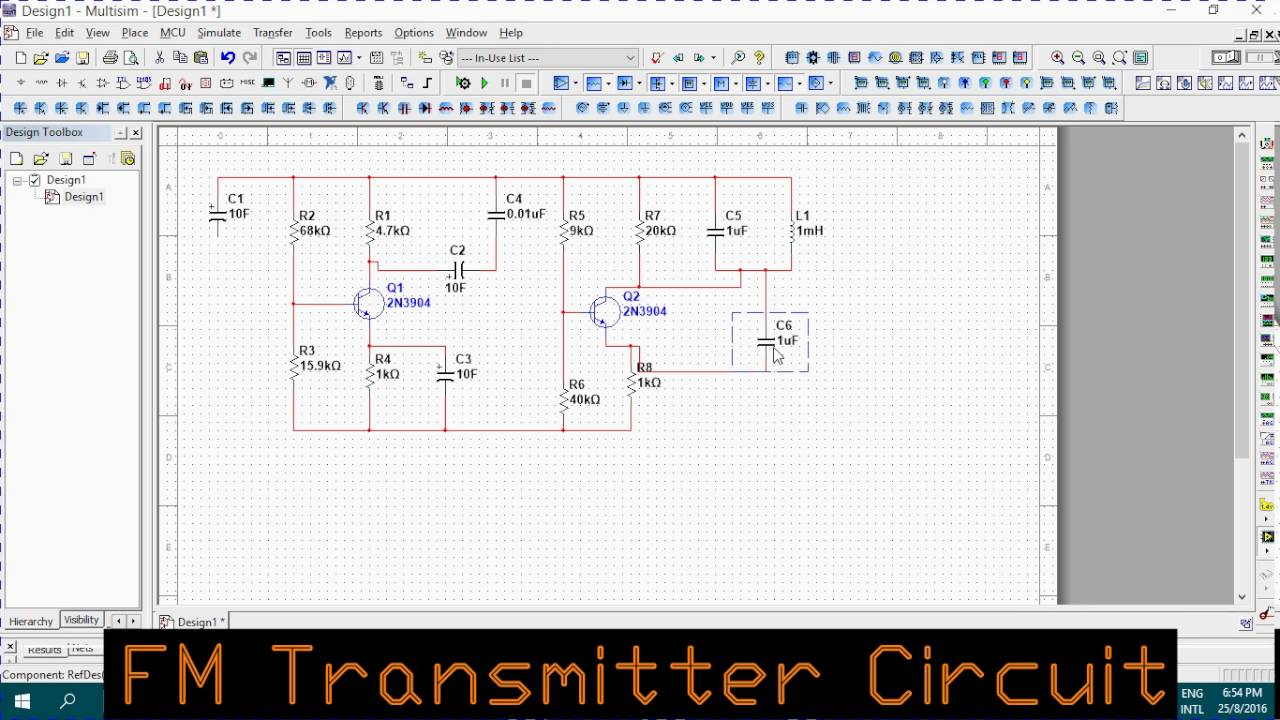 How To Make A Fm Transmitter Youtube Audio Circuit Diagram
