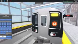 Roblox MTA Rare: R110B M (Orange) Train