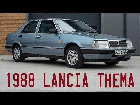 1988 Lancia Thema 2.0 ie goes for a drive