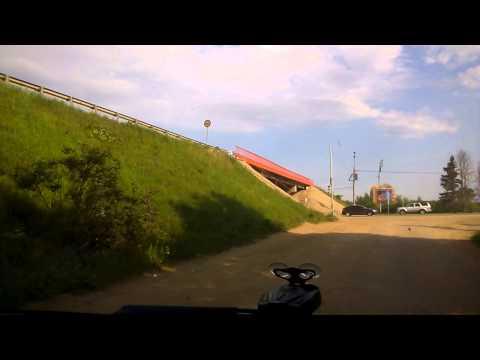 Выезд на Минское шоссе с трассы Наро-Фоминск - Кубинка