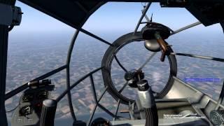 БзБ. Видеоурок 4. He-111H2, бомбометание с горизонта.