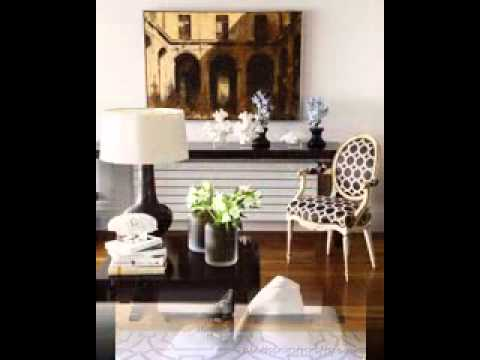 console table decorating ideas youtube. Black Bedroom Furniture Sets. Home Design Ideas