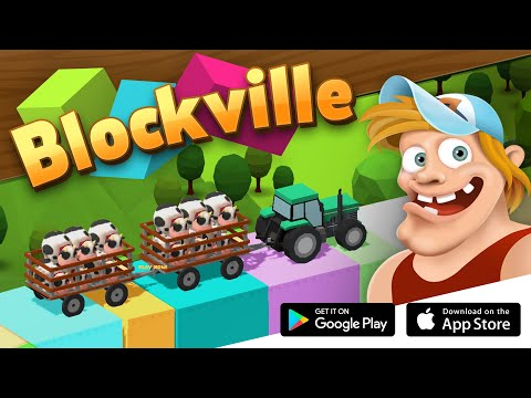 BLOCKVILLE 🚜 Physics & Puzzle Game