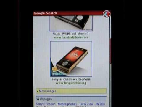 Sony Ericsson W910i applications