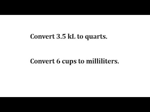 convert-kiloliters-to-quarts-and-cups-to-milliliters