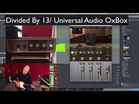 Universal Audio Ox Vs Two Notes Torpedo Studio