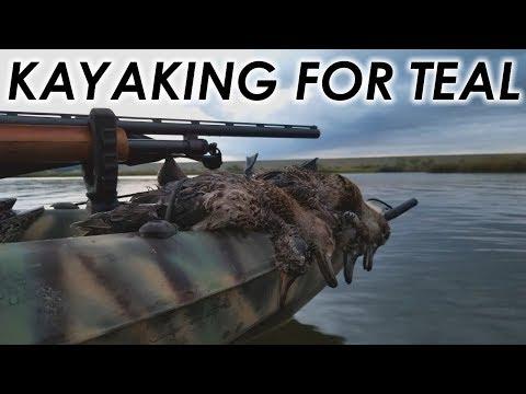 Kayak Hunting for Teal   Nebraska Public Land Teal Hunt 2018