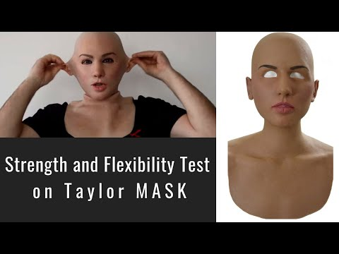 Taylor Silicone Mask - Strength and Flexibility Test