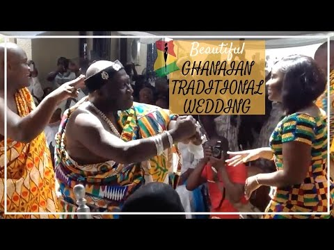 Ghanaian Traditional Wedding Of A Chiefs Daughter