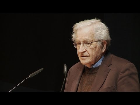 Noam Chomsky: Driving forces in US policy | Vortrag (deutsch