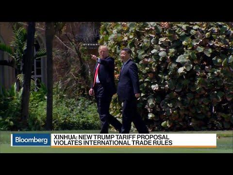 New Trump Tariff Proposal Violates Trade Rules Says Xinhua