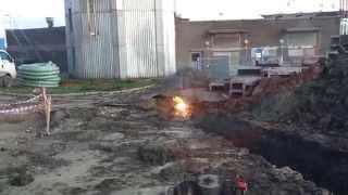 Взрыв кабеля 6000 вольт (The explosion of cable 6000 volts)