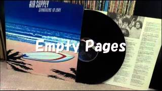 Air Supply   Empty Pages