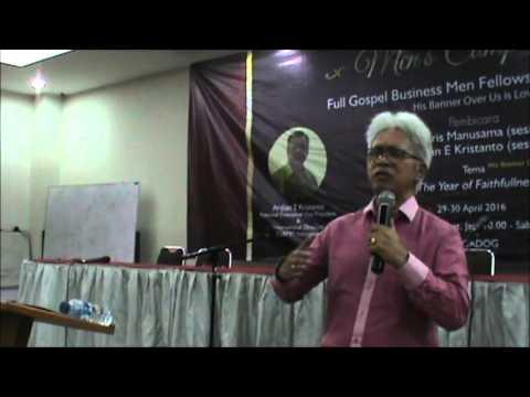 Chris Manusama (Sesi 1) MDC Men's Camp, -- FGBMFI REGIONAL WEST4