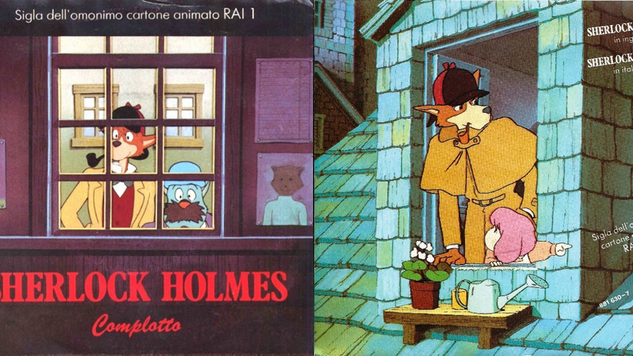 sherlock hound 1984 extended english theme song stereo