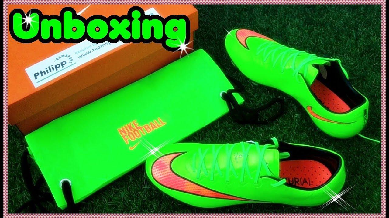 Unboxing: Nike Mercurial Vapor X FG - YouTube