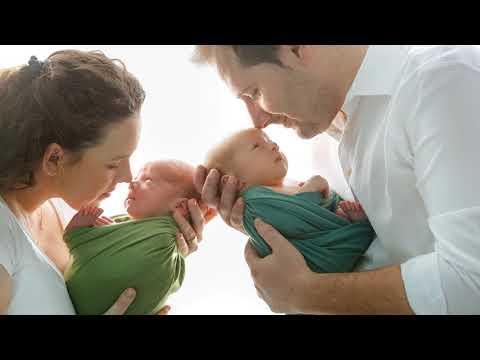 Neugeborenen Shooting mit Partner