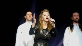 Madonna Like A Prayer (NEW VERSION) MDNA Tour EUROPE Bluray