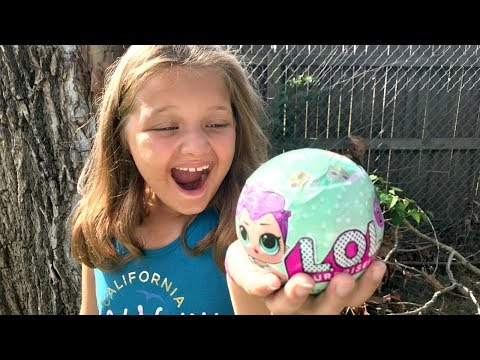 Thumbnail: MAGIC BEANS Grow LOL DOLLS! LOL SURPRISE DOLLS OPENING Family Fun Toys For Kids Pretend Play