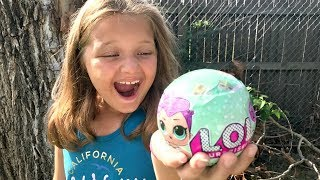 MAGIC BEANS Grow LOL DOLLS! LOL SURPRISE DOLLS OPENING Family Fun Toys For Kids Pretend Play