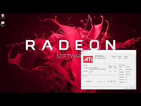 BIOS Mod  Sapphire Nitro+ RX580 8G SAMSUNG for Ethereum AMD Radeon GPU Mining