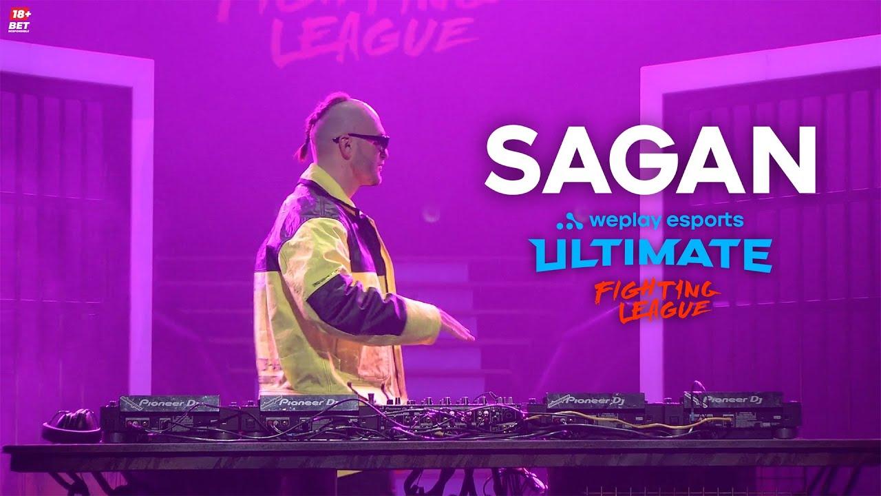 Sagan dj live set @ WePlay Ultimate Fighting League (Mortal Kombat)