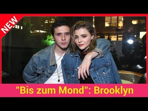 """""""Bis zum Mond"""": Brooklyn Beckham gesteht Chloë seine Liebe!"""