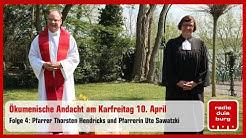 Ökumenische Andacht am Karfreitag 10. April
